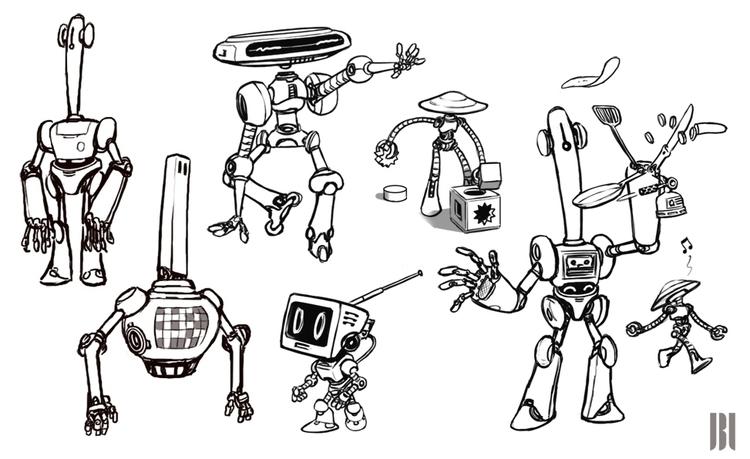 Character Design - characterdesign - jbl-1021   ello