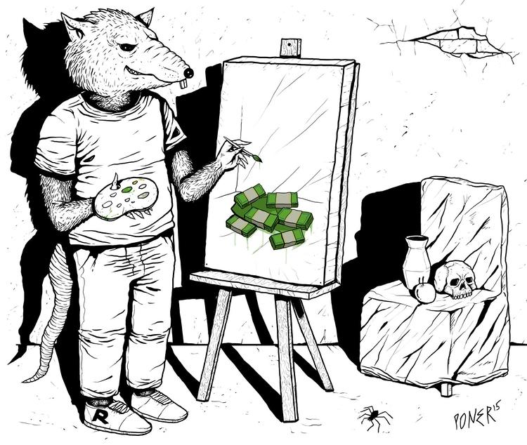 illustration, digitalart - poner   ello