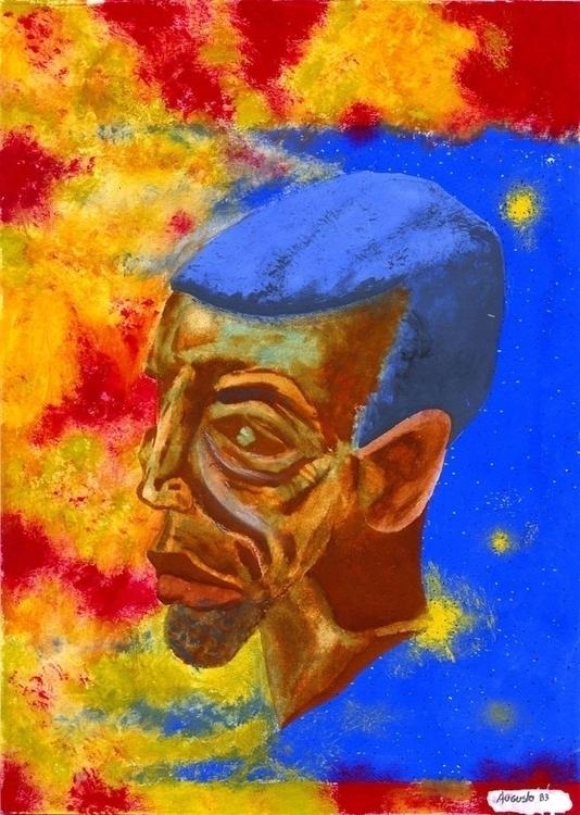 Africano African - illustration - augustopinho | ello