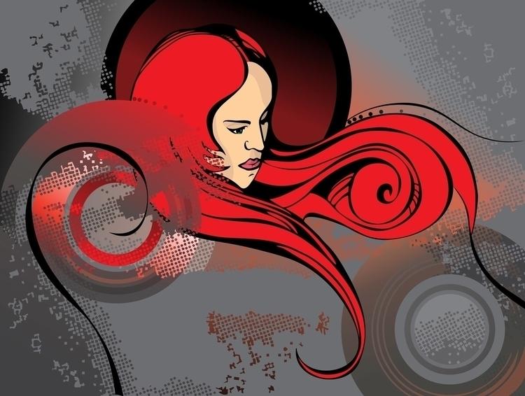 Gingerhead - illustration, vector - hanna-1284 | ello