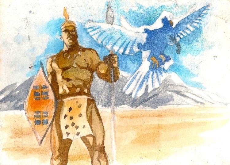 war peace - painting - sunnyefemena | ello