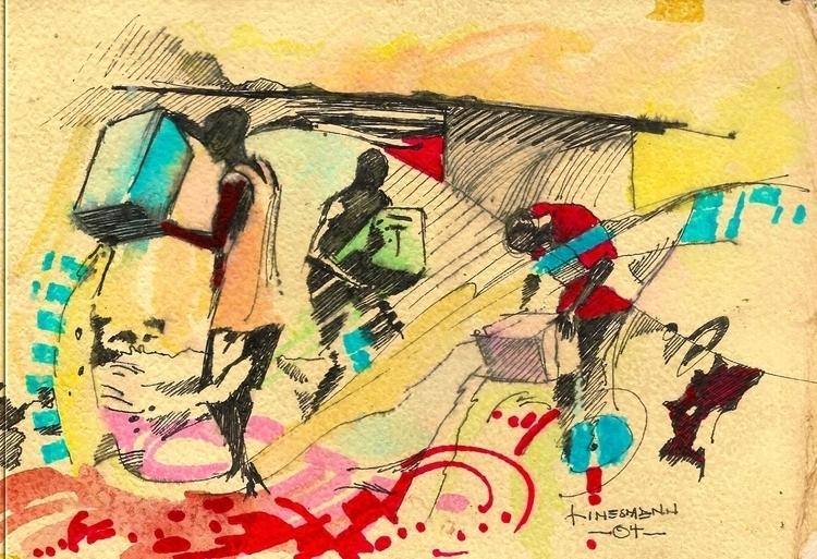 wastage - painting - sunnyefemena | ello