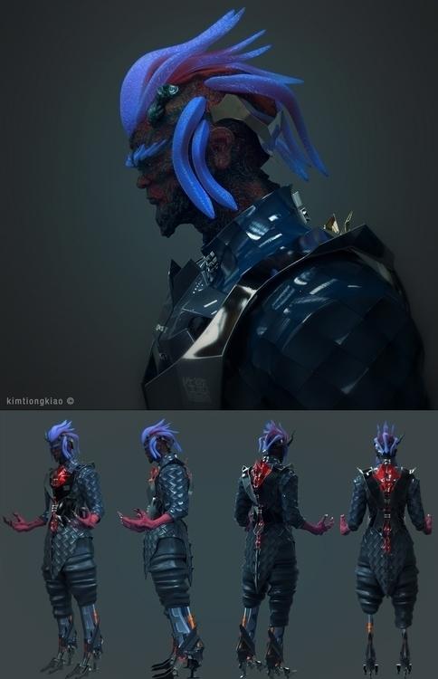 characterdesign, character, 3d - kimkiao | ello