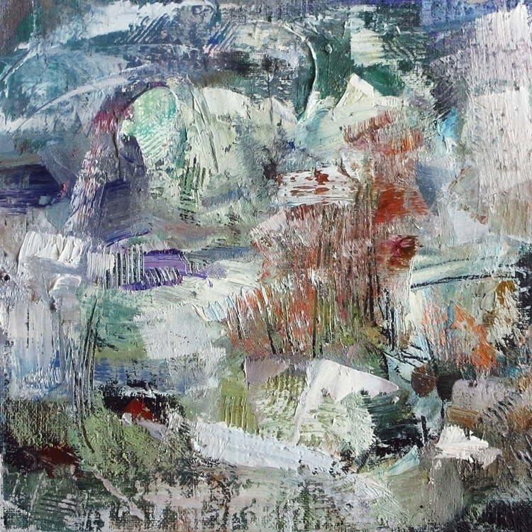 landscape rime - painting, painting - vladimirmishyra | ello