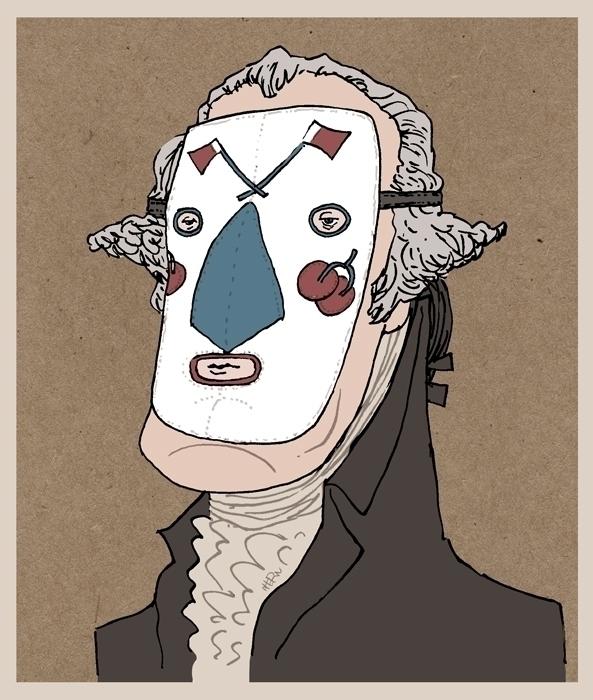 fact: Betsy Ross wrestling mask - kevinahern | ello