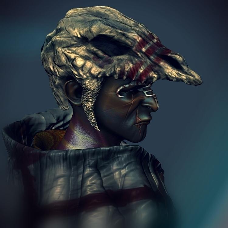 Tribal - characterdesign, character - kimkiao | ello