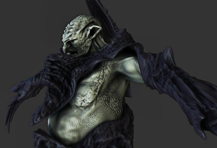 War Troll (Speed Sculpture - characterdesign - kimkiao | ello