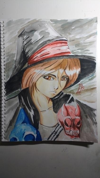 Watercolor Sketchbook - illustration - hawr   ello