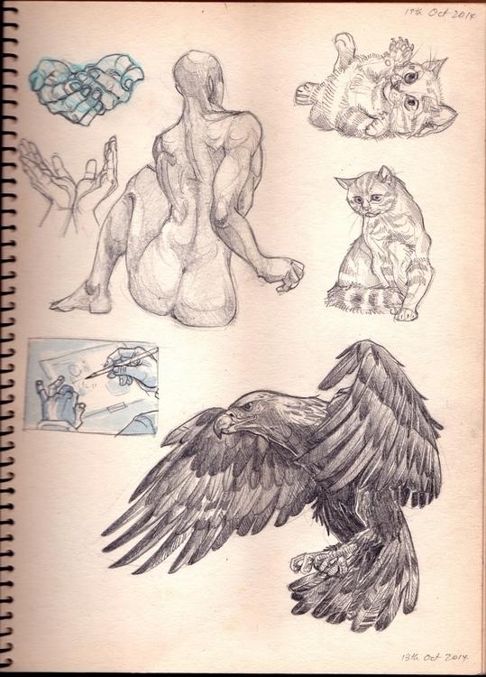 peek sketch journal dump studie - sksk270 | ello