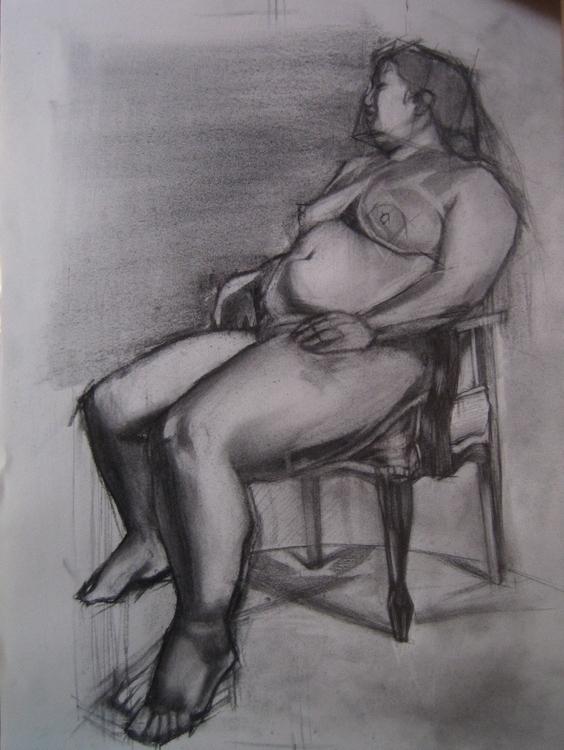 drawing, fineart - atsumikameoka   ello