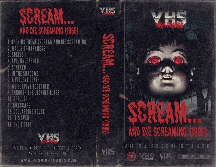 [VHS NIGHTMARES ARTWORK - scream - kenzoart | ello