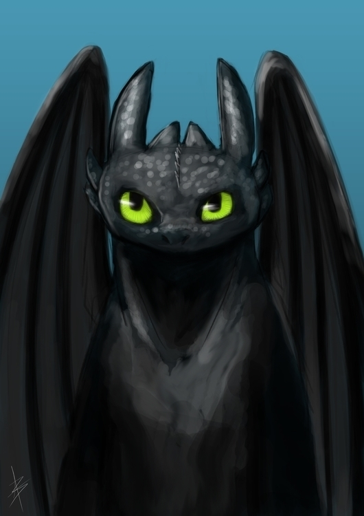 Toothless - toothless, dragons, httyd - aleban | ello