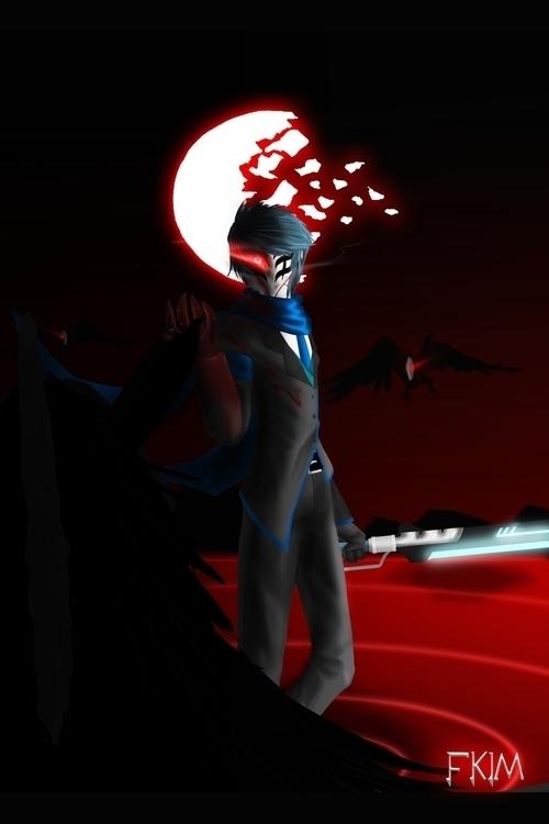 RWBY OC 4 - illustration, characterdesign - fkim90   ello