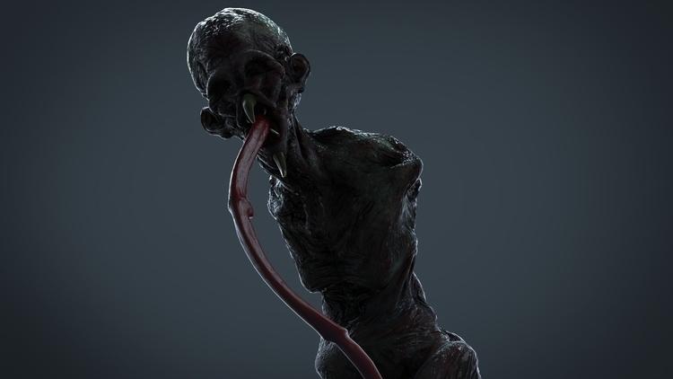 Syphon (Creature 3D - creature, creaturedesign - kimkiao | ello