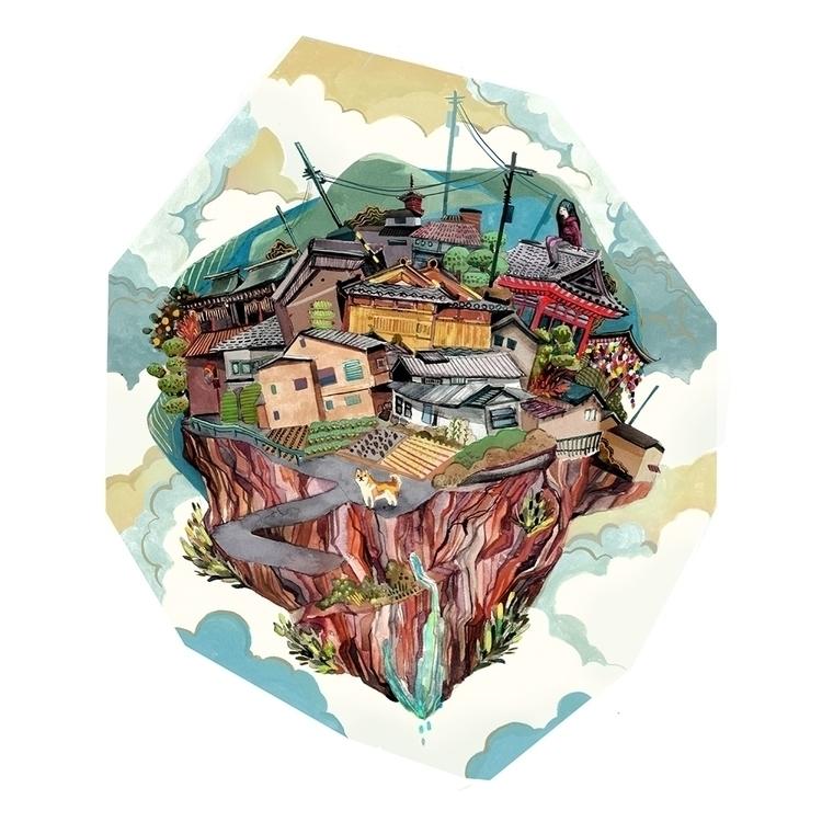 Iwakura Island - malisasuchanya - lisabanana | ello