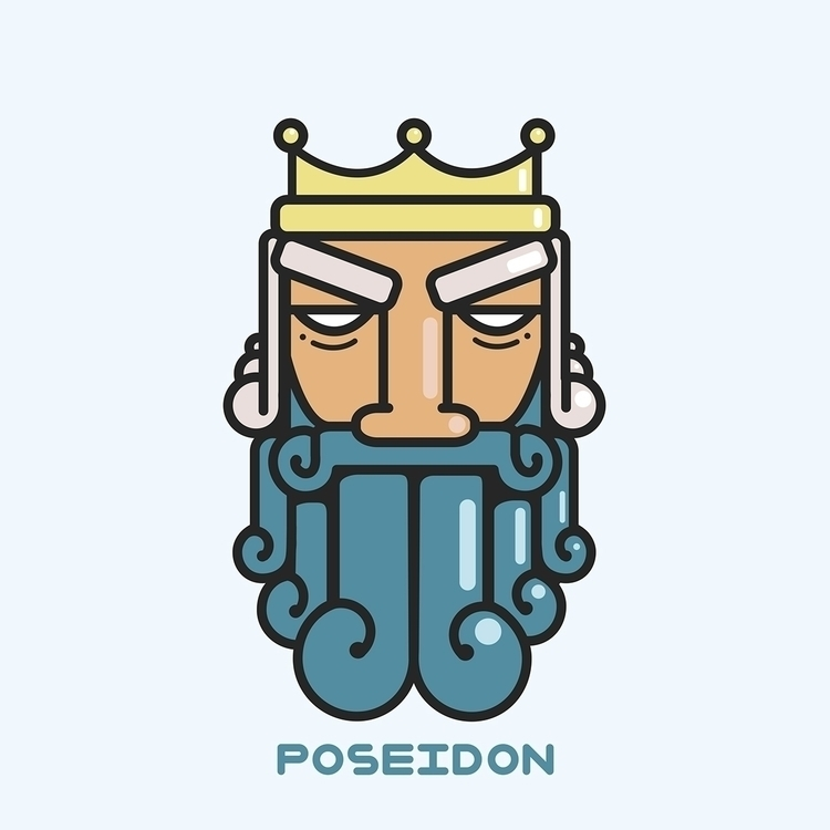 Poseidon - greek, god, poseidon - rustamization | ello