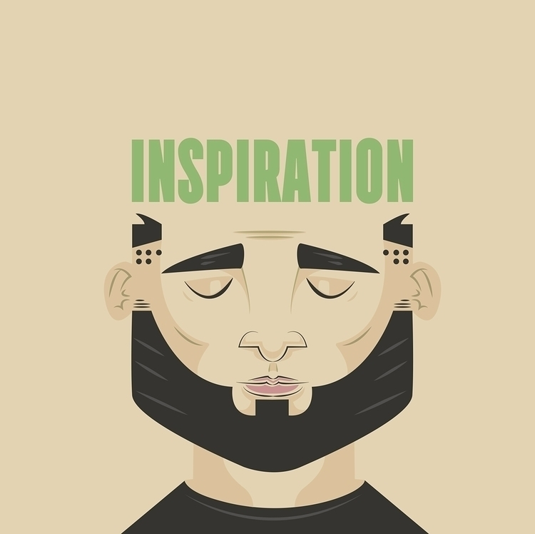 Inspiration - illustration, design - rustamization | ello