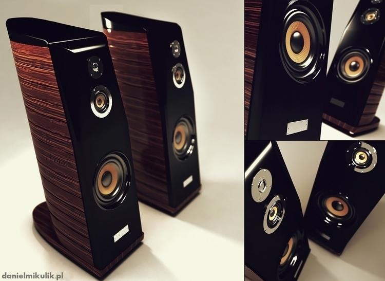 sound, music, speaker, 3dmodel - cerebrate | ello
