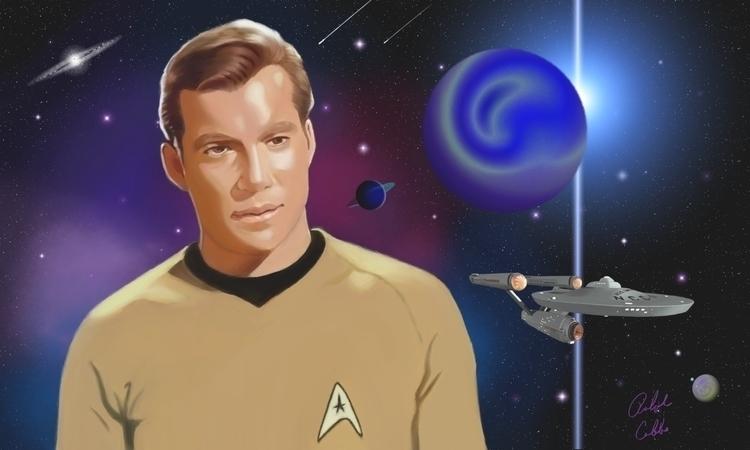 Kirk#1 - digitalillustration, corelpainter - ralphcobbs | ello