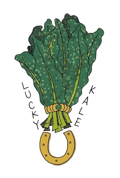 Lucky Kale Foodietoo design (te - nancydraws | ello