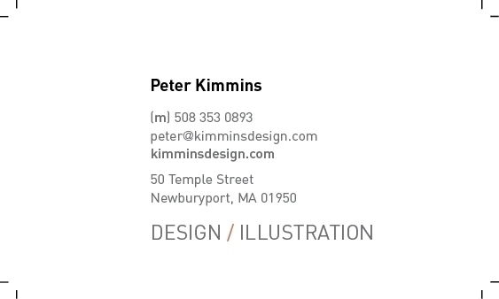 Din, businesscard - pekimmins | ello