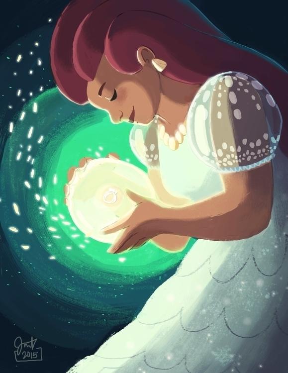 sea goddess creating ring! piec - jm_amante02 | ello