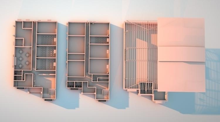 School Building - 3drendering, 3dmodeling - kniknox | ello