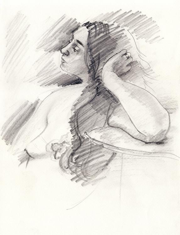lifedrawing, drawing, observationaldrawing - ewan-9578   ello