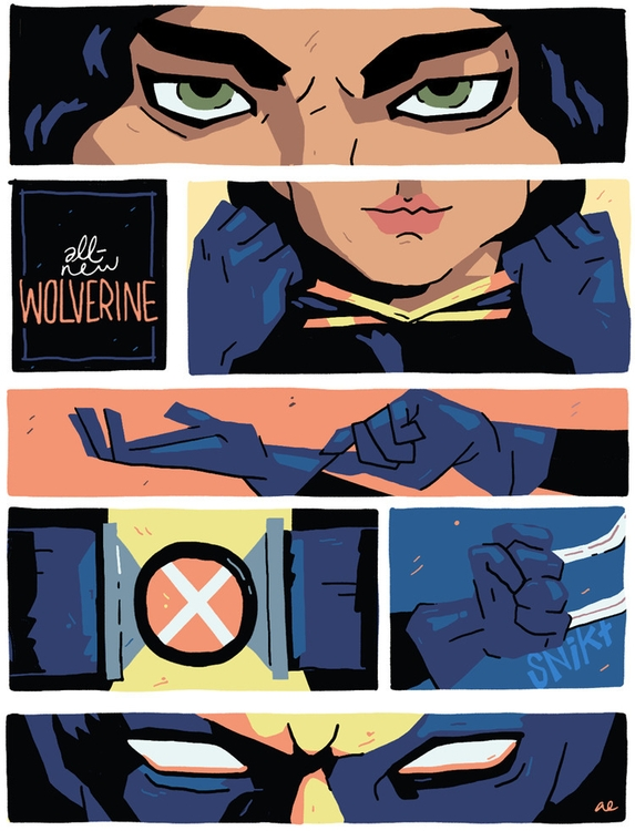 Illustration honor Wolverine ma - austineustice | ello