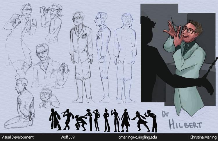 Dr. Alexander Hilbert character - cmarling | ello