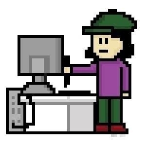 Design job - pixelart, characterdesign - hotshots2000 | ello