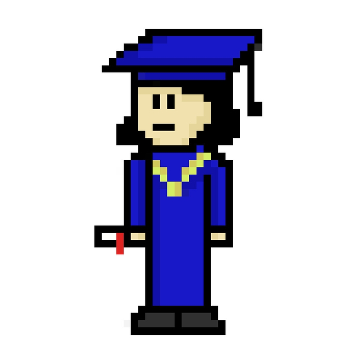 Academy - pixelart, characterdesign - hotshots2000 | ello