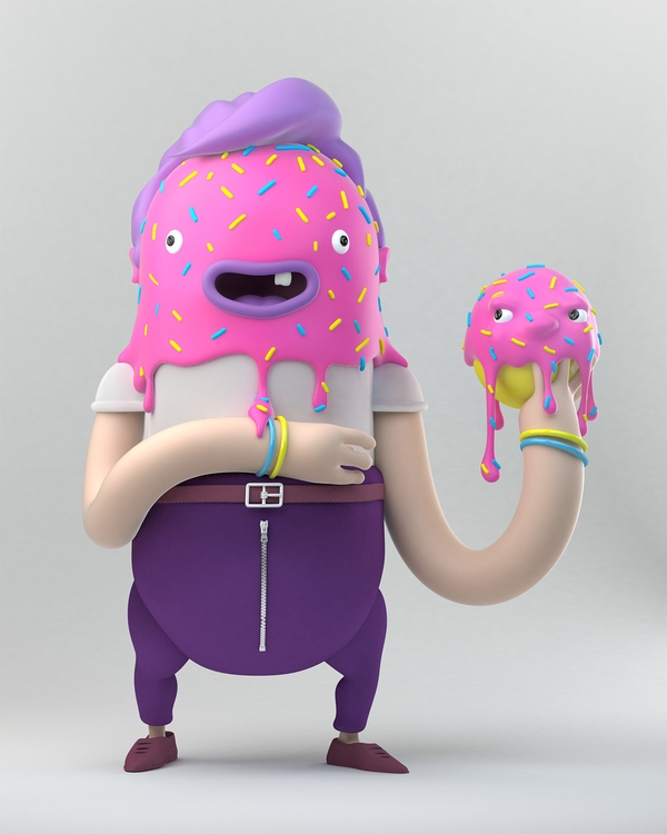 Hoola Bob - characterdesign, character - bard-2560 | ello