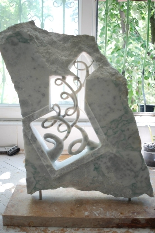 marble - sculpture - andrejmitevski | ello