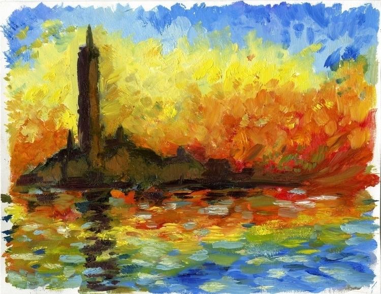 Monet master copy quick paintin - cmarling | ello