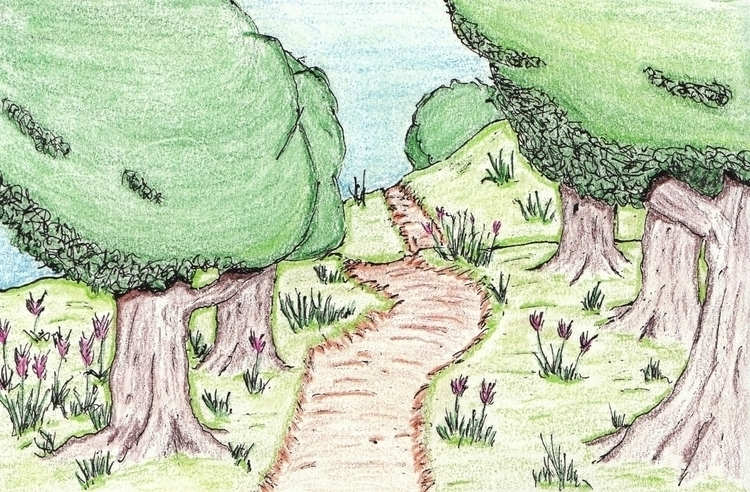Walk - illustration - cheechwiz   ello