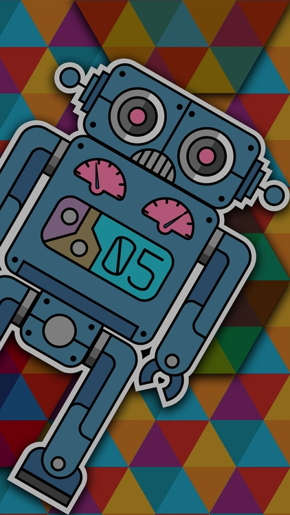 ROBOT 05 smartphone background - ans-9428 | ello