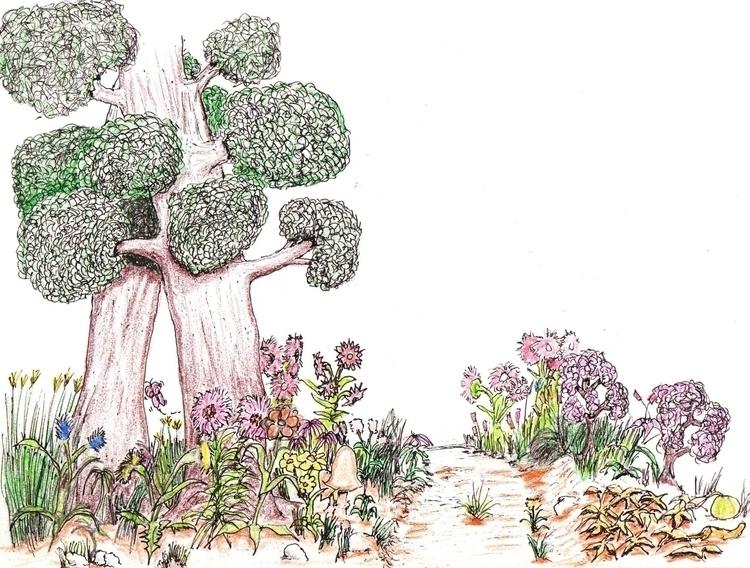 Pathways - illustration - cheechwiz   ello