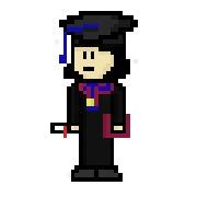 Graduated - pixelart, characterdesign - hotshots2000 | ello