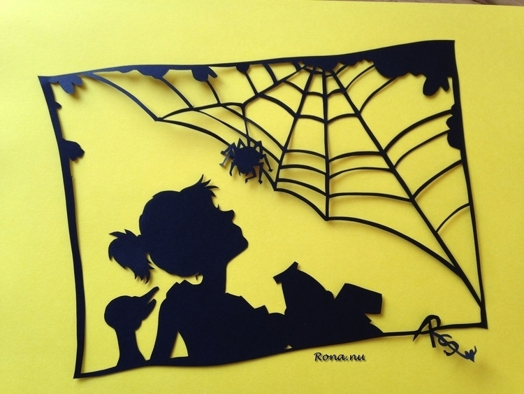 web - papercut, children'sillustration - rona-5961 | ello