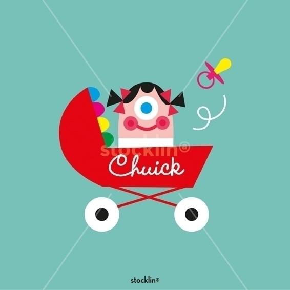 Decorative print - kids, baby, design - stocklina-1295 | ello