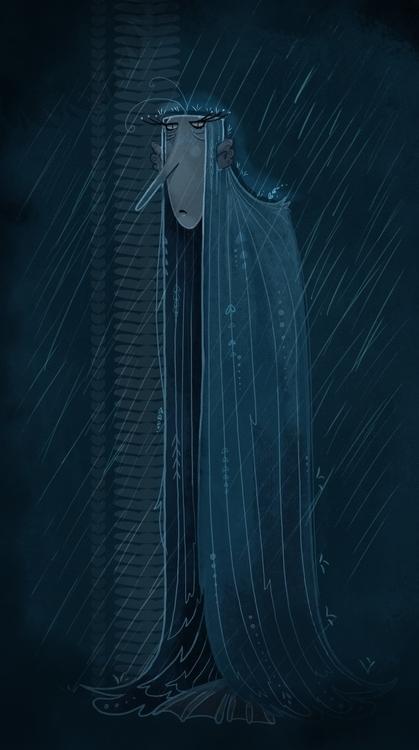 Brodzica - illustration, characterdesign - joannastopyra | ello