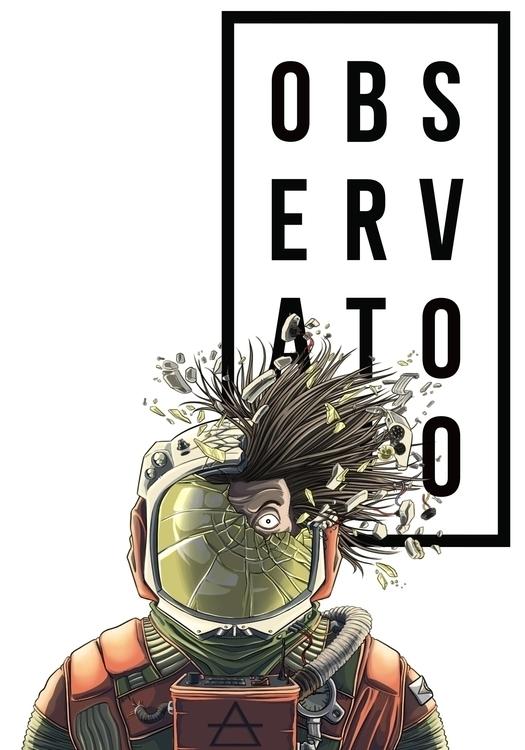 illustration, branding, astronaut - farsa | ello