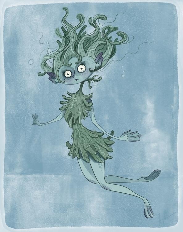 Rusalka - rusalka, illustration - joannastopyra | ello
