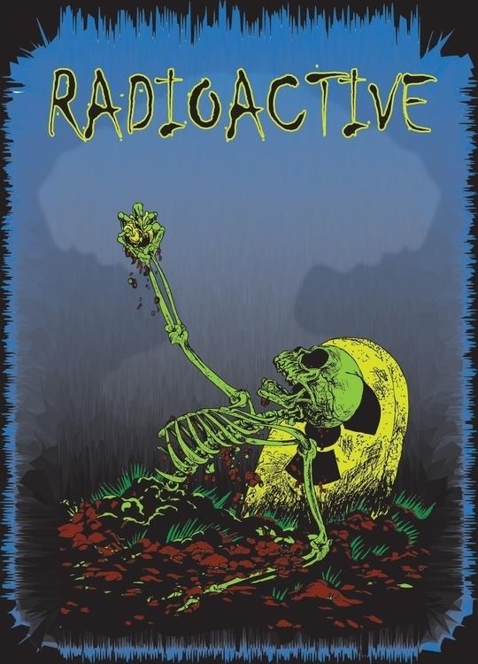 Radioactive Heart - Classic 80s - jessieg-1223 | ello
