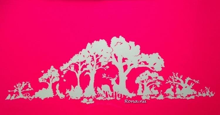 forrest baby - droomwieg, papercut - rona-5961 | ello