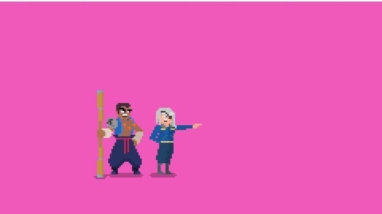 Fujin Raijin - Final Fantasy VI - planckpixels   ello