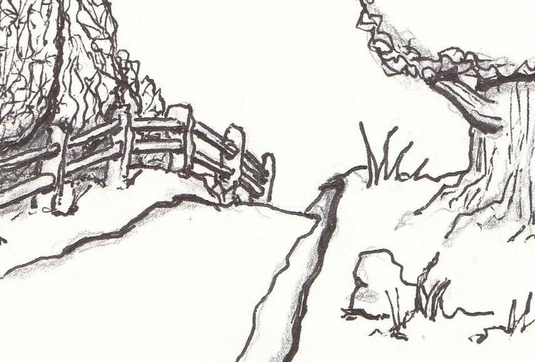 Paths - illustration - cheechwiz | ello