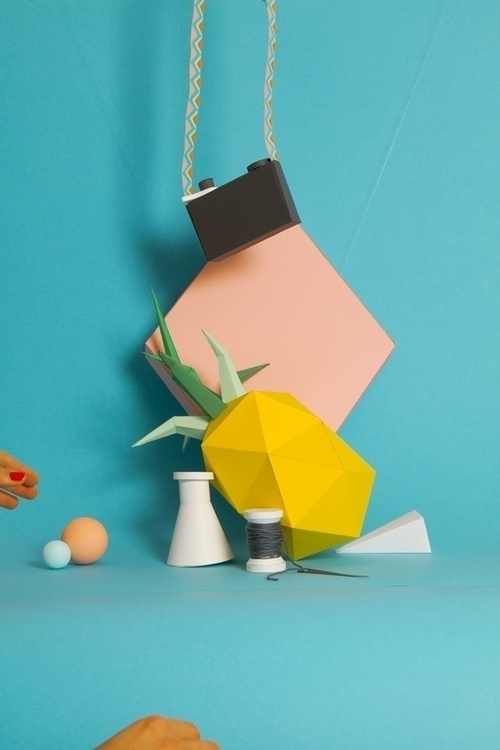 paper, paperart, papercraft, papercraft - carolin_wanitzek | ello