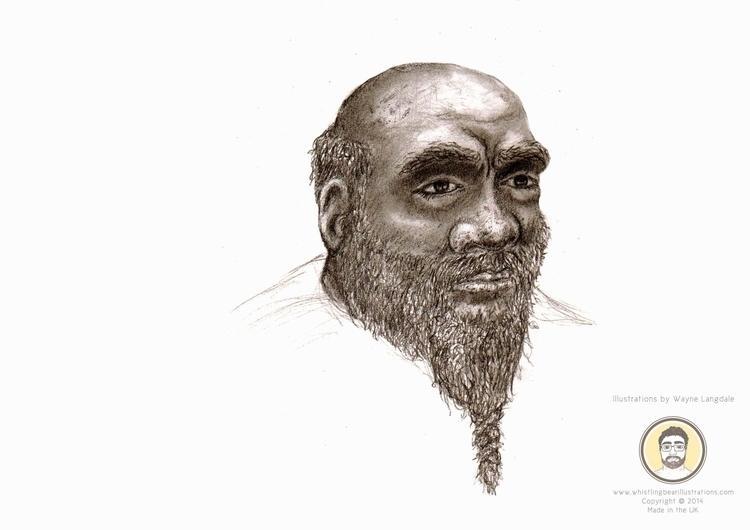 Pencil Drawing Dwarf - dwarf, drawing - whistlingbear | ello